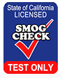 Smog Test Only, Smog Certification Center, STAR Program
