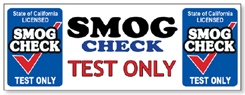 Smog Check, Smog Test Only in San Diego, California